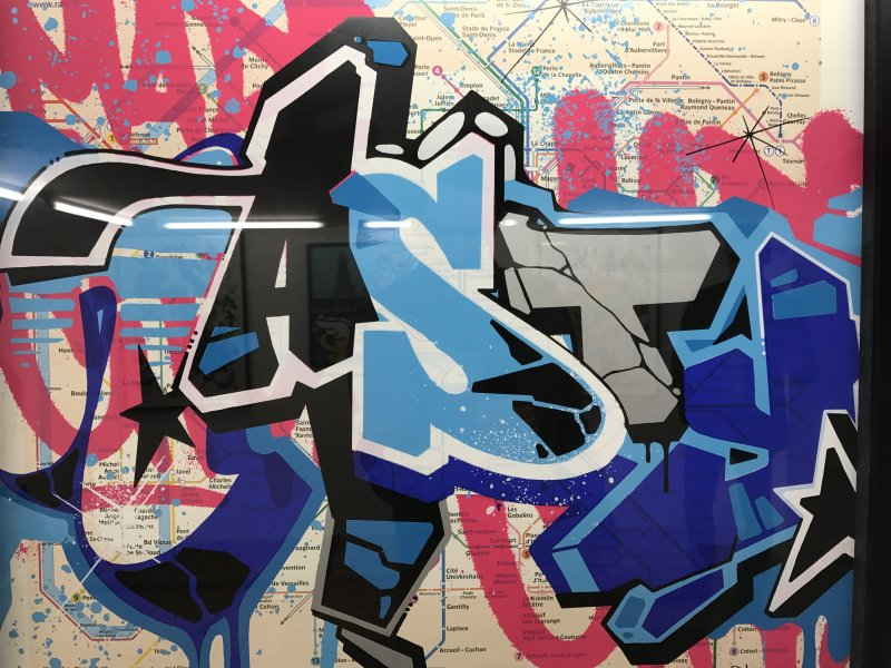 Ma Collection d'art urbain - Galerie Brugier Regail Paris 66