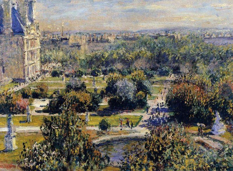 Tuileries, Monet, Cent