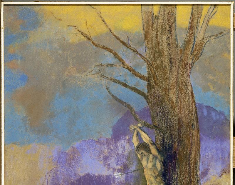 Redon Odilon (1840-1916). Bordeaux, musée des Beaux-Arts. Bx1980-6-1.