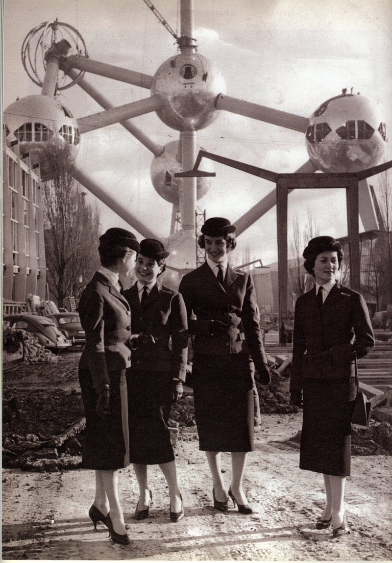 The hostesses of Expo 58, Bxl universel