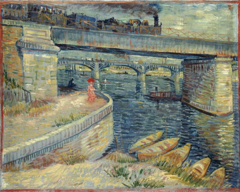 Les Ponts d'Asnières, 1887