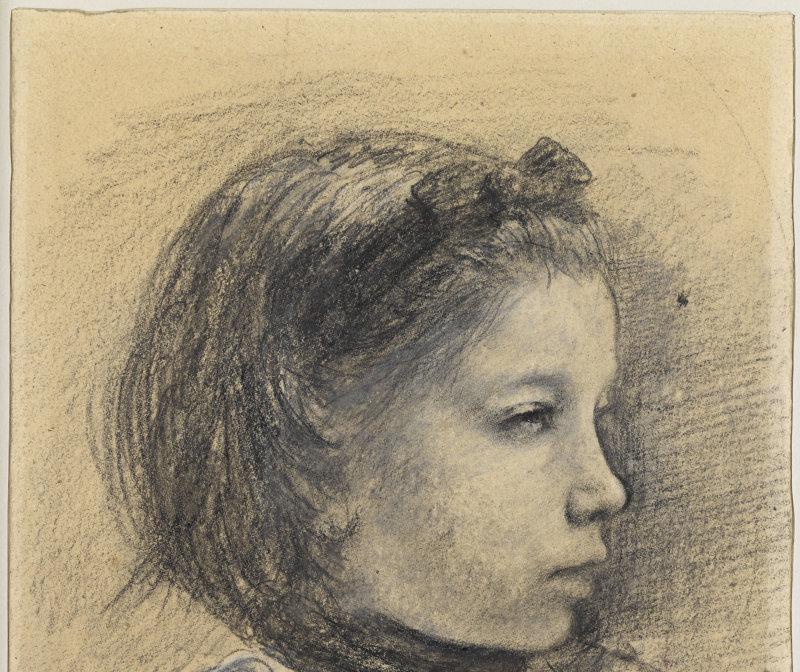 Degas Edgar (dit), Gas Hilaire-Germain Edgar de (1834-1917). Paris, musée d'Orsay, conservé au musée du Louvre. RF11689-recto.