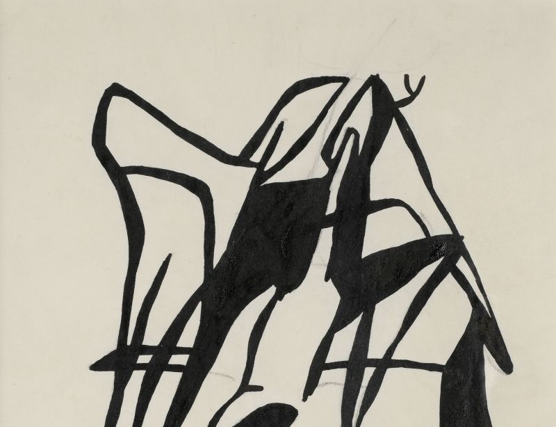 Jean Arp (1886-1966) Composition dada, 1919