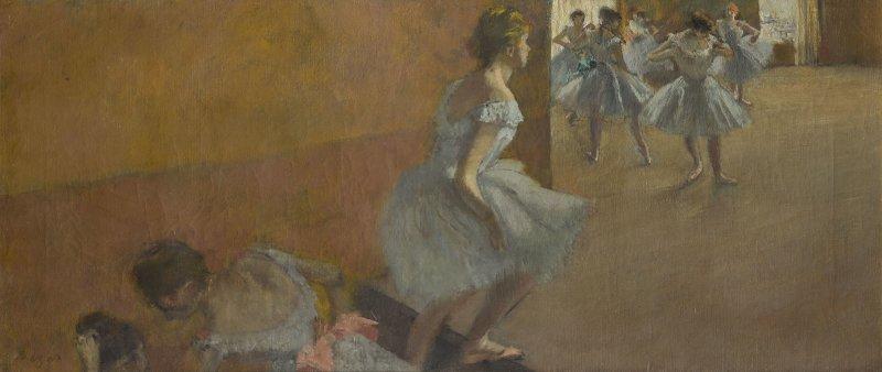Degas, Danseuses montant un escalier, Degas Danse Dessin