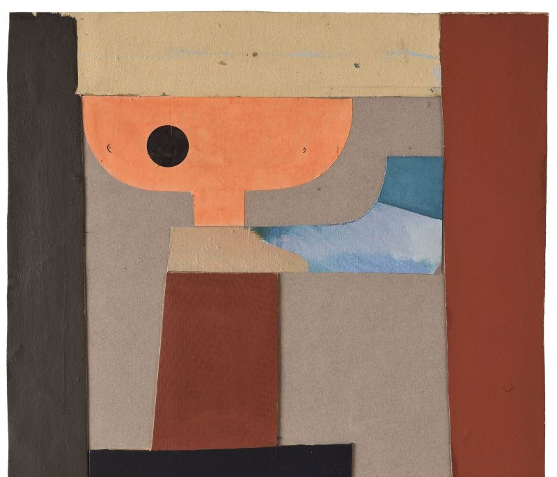 Jean Arp (1886-1966) Collage, 1920