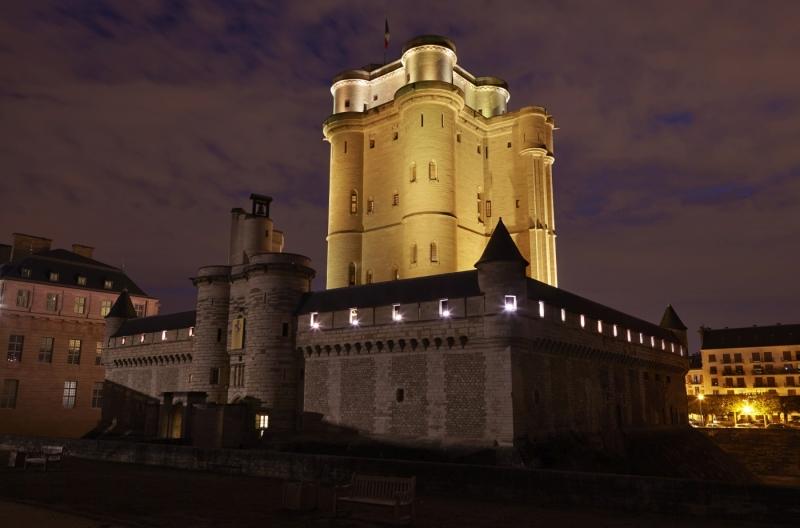Une toile sous les étoiles, château de Vincennes, cinéma plein air, expo in the city