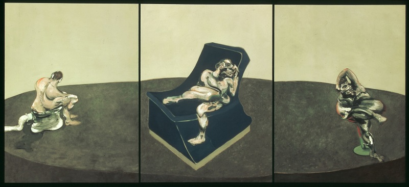 Bacon, Three Figures in a Room, Face à face, musée Fabre