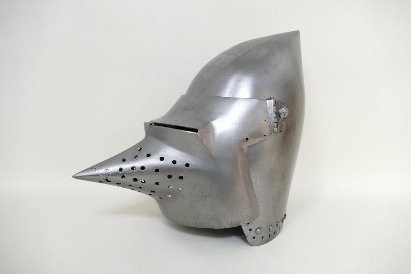 bacinet à visière 1380.1400 Musée Mandet