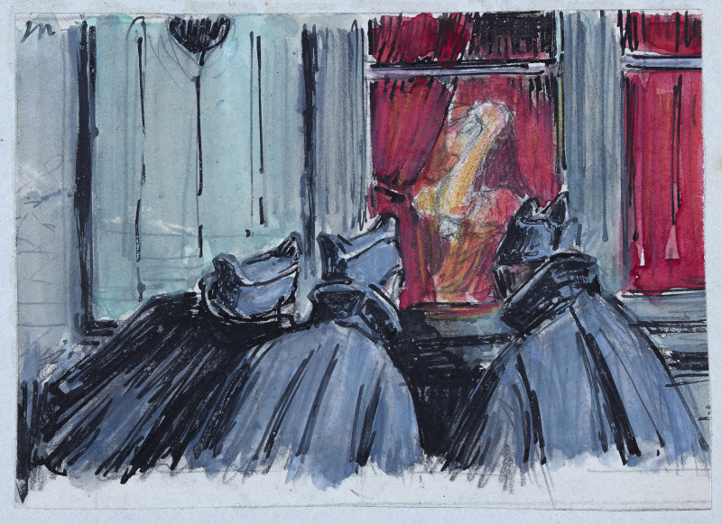 Expo Camille Godet - Musée des Beaux-Arts de Rennes - Camille Godet, Par la fenêtre