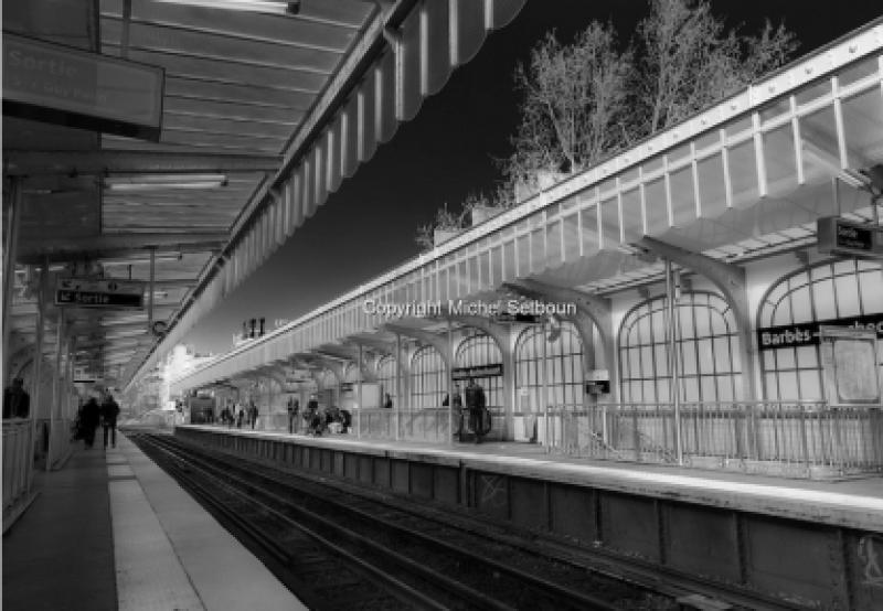 Expo Jolie Capitale - Galerie Hegoa - Michel Setboun - A la recherche des bateaux du métro