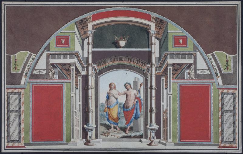 Bacchus et Ariane Estampe