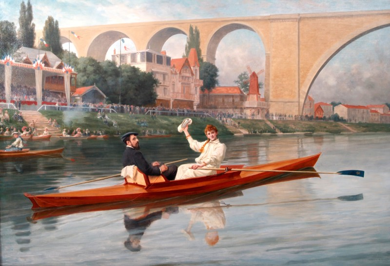 94 MUSEE DE NOGENT SUR MARNE                                 LE TABLEAU DE A. HERVIER DE ROMAND