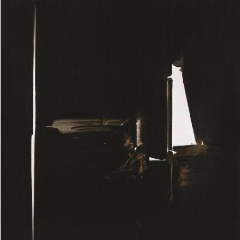 André Marfaing, 1977, Peintures et lavis, MBA Carcassonne