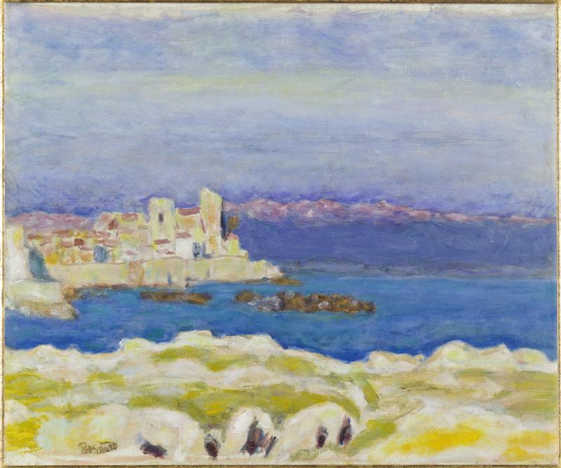 Bonnard, Antibes, 1930 - Exposition Bonnard Vuillard au Musée Bonnard, Le Cannet