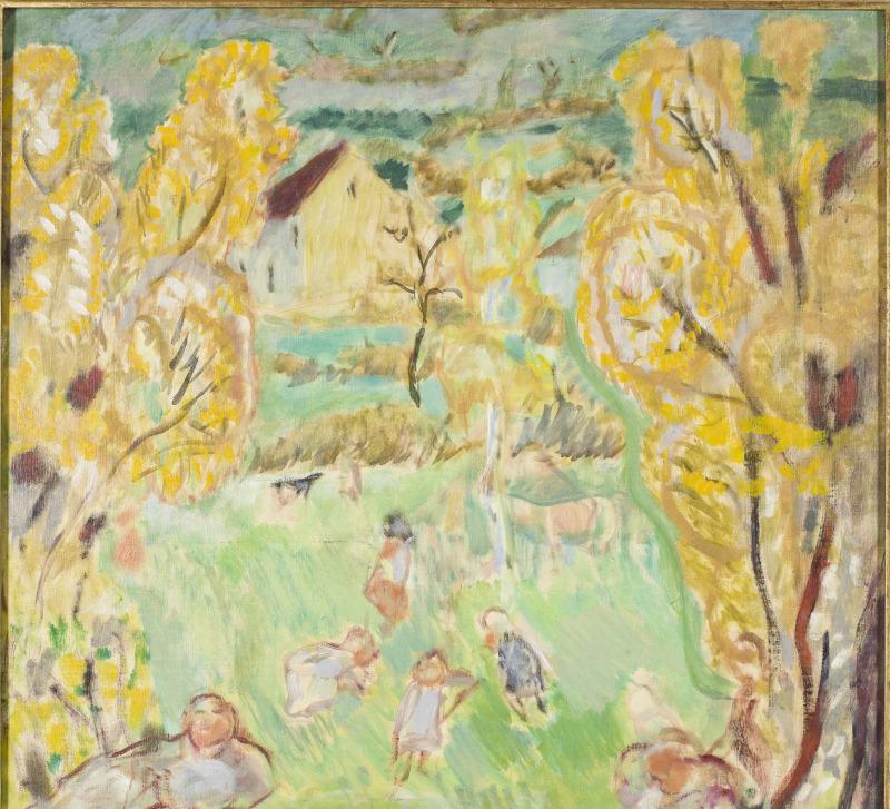 Bonnard, Etude pour le printemps, 1912 - Exposition Bonnard Vuillard au Musée Bonnard, Le Cannet
