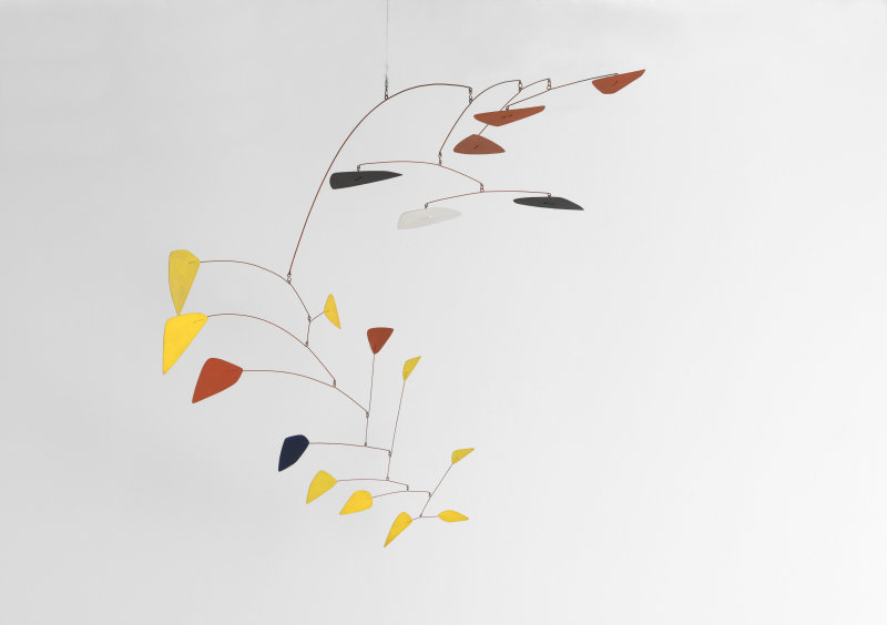 Calder Alexander, Mobile a deux plans, musée Soulages