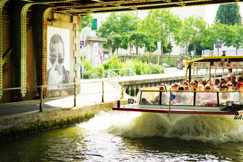 Canal de L'ourcq paris plages ete 2017 Paris