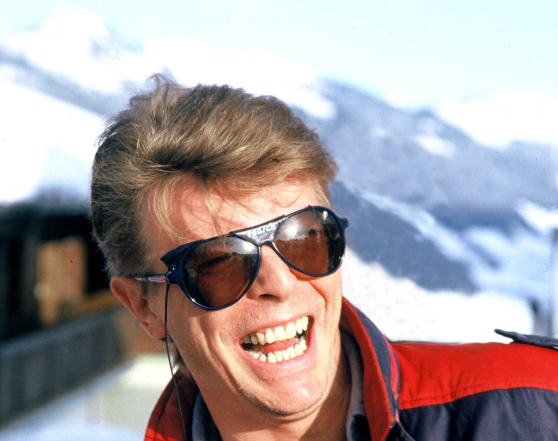 ARCHIVES - DAVID BOWIE FETE SES 40 ANS A GSTAAD    00012641