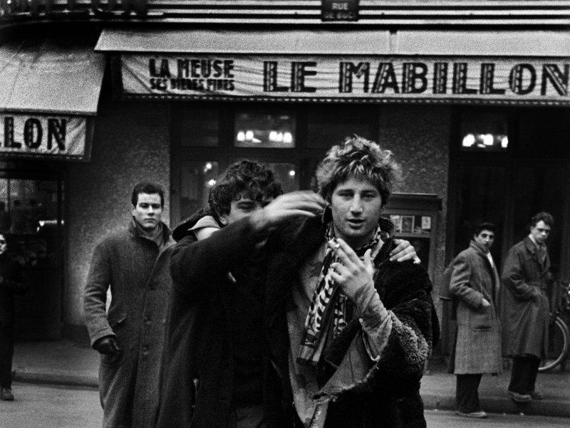 Jean Michel Mension and Auguste Hommel, Paris, 1953