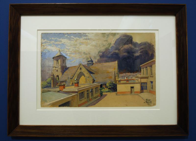 Expo Camille Godet - Musée des Beaux-Arts de Rennes - Salle Godet