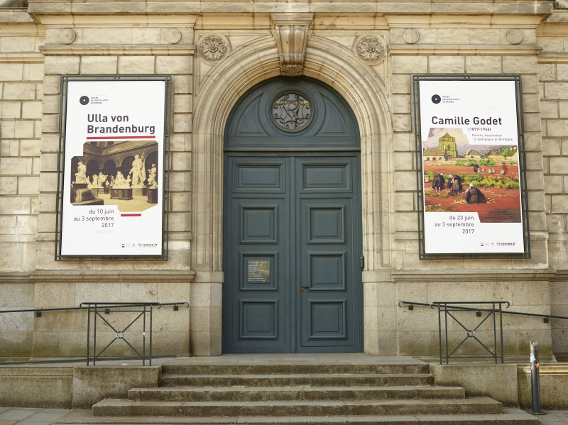 Expo Camille Godet - Musée des Beaux-Arts de Rennes