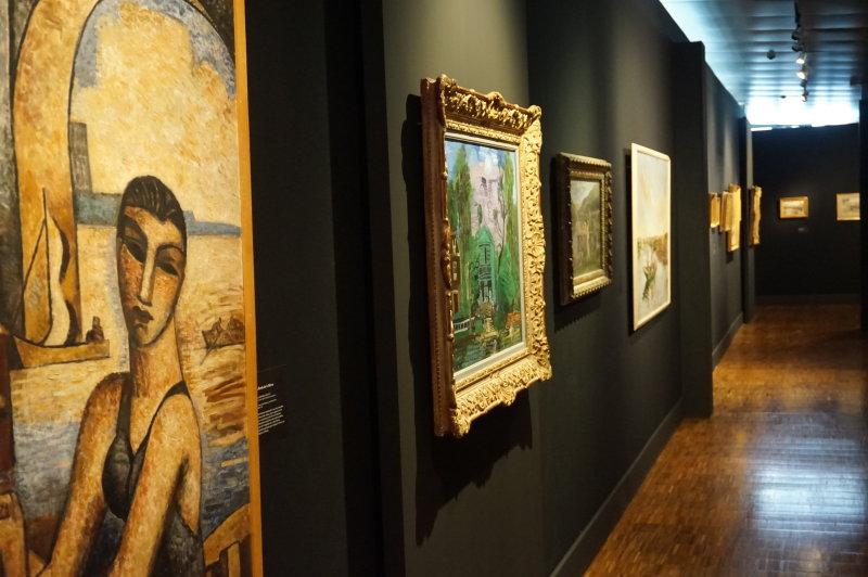 Expo Peindre la banlieue - Musée français de la carte à jouer DSC01904
