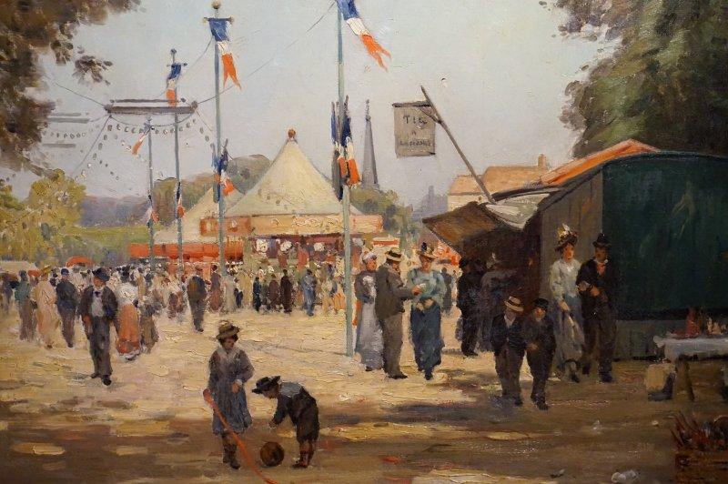 Expo Peindre la banlieue - Musée français de la carte à jouer DSC01917