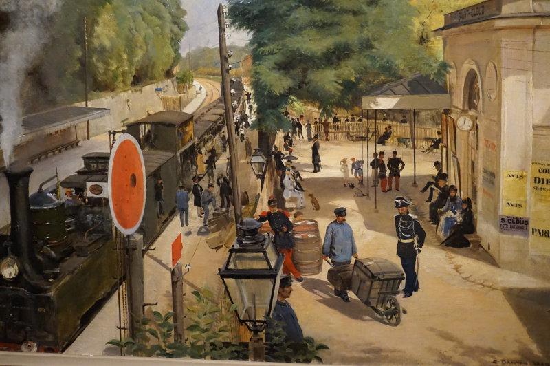 Expo Peindre la banlieue - Musée français de la carte à jouer DSC01920