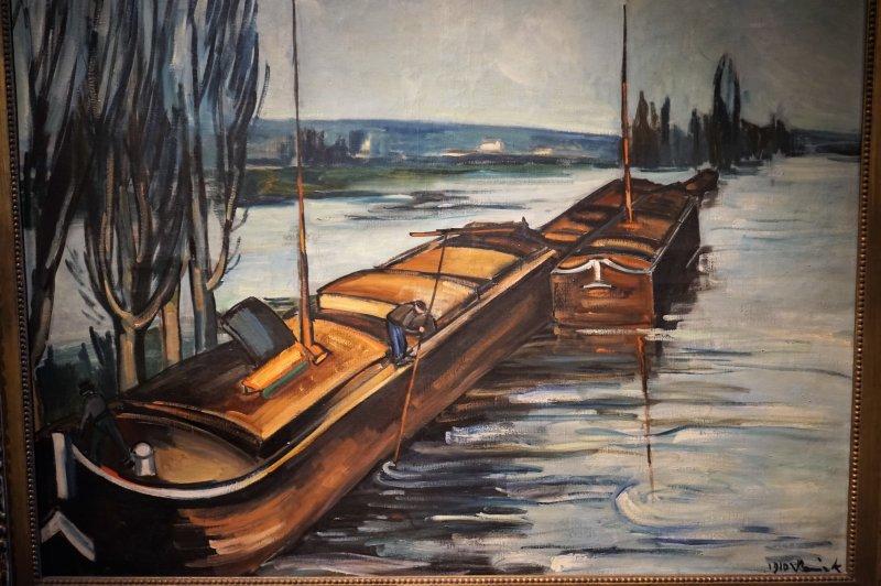 Expo Peindre la banlieue - Musée français de la carte à jouer DSC01929