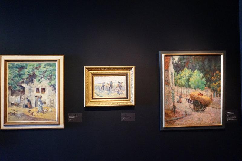Expo Peindre la banlieue - Musée français de la carte à jouer DSC01937