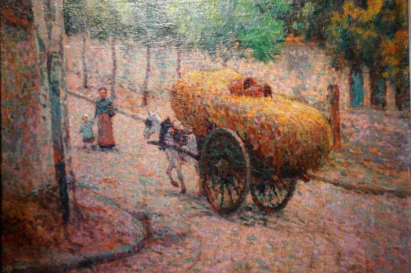 Expo Peindre la banlieue - Musée français de la carte à jouer DSC01938