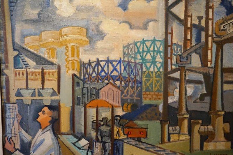 Expo Peindre la banlieue - Musée français de la carte à jouer DSC01946