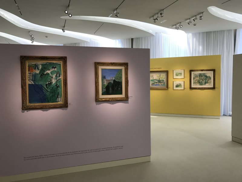 Exposition Raoul Dufy Musee Cocteau Menton 3