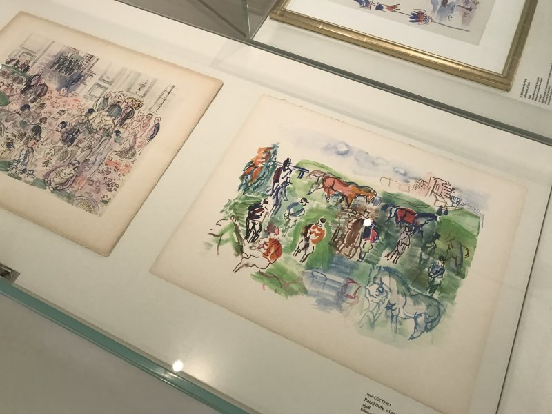 Exposition Raoul Dufy Musee Cocteau Menton 31