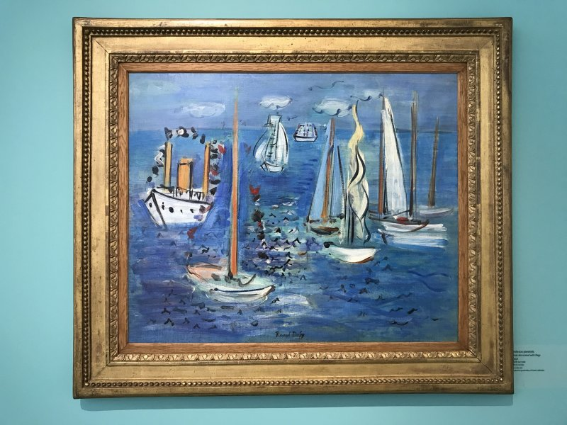 Exposition Raoul Dufy Musee Cocteau Menton 62