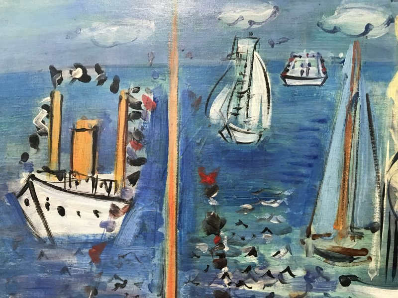 Exposition Raoul Dufy Musee Cocteau Menton 63