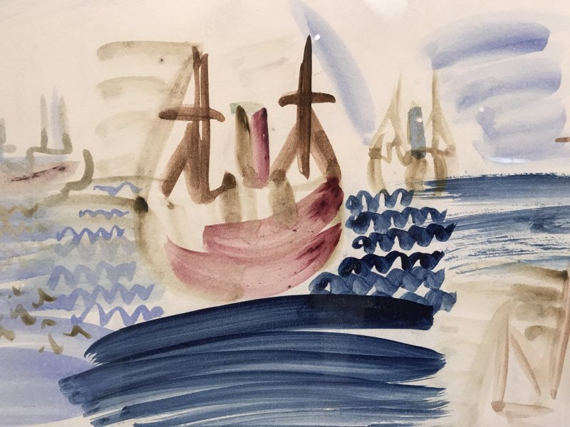 Exposition Raoul Dufy Musee Cocteau Menton67