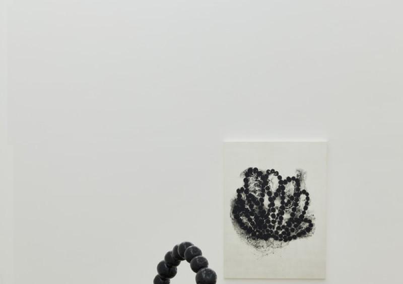 Jean-Michel Othoniel, Black Lotus, 2016, CRAC sète