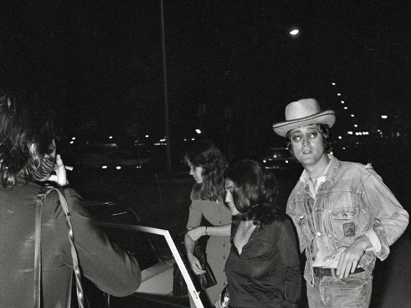 John Lennon Yoko Ono Taxi -