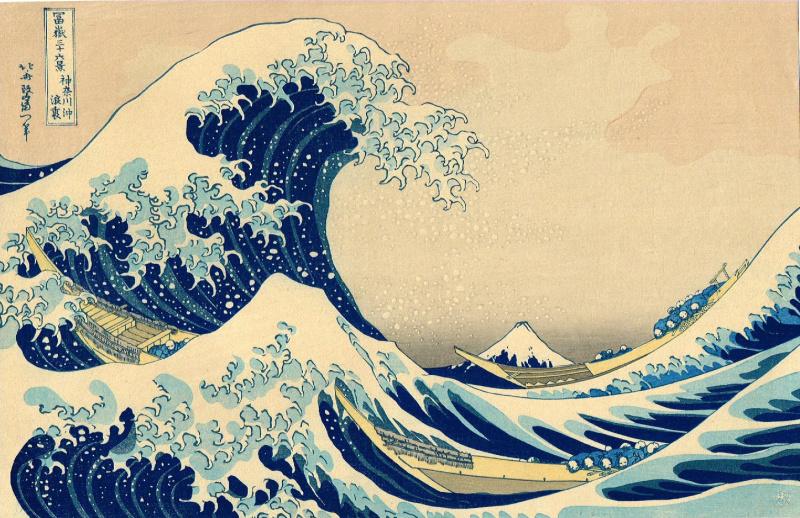 La Grande Vague, Hokusai, 1830 - MOMA New York