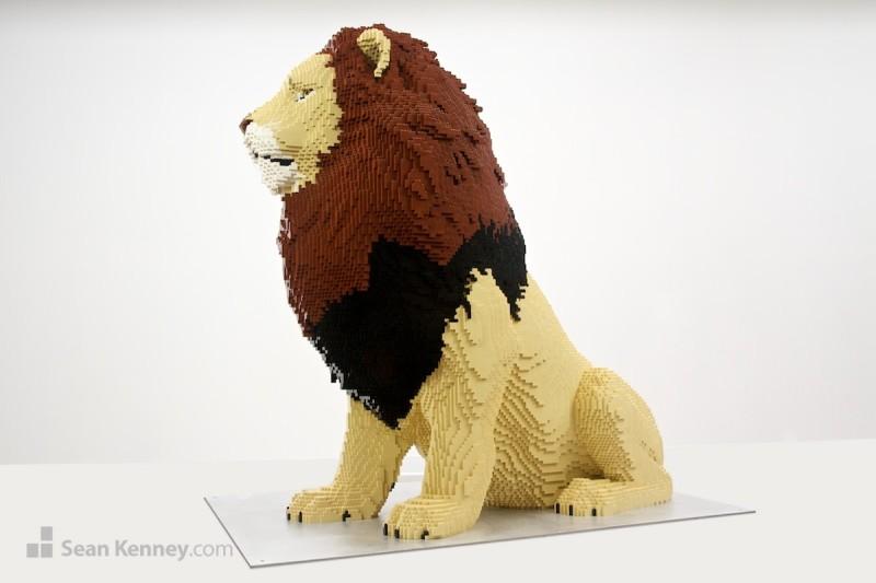 Lion lego