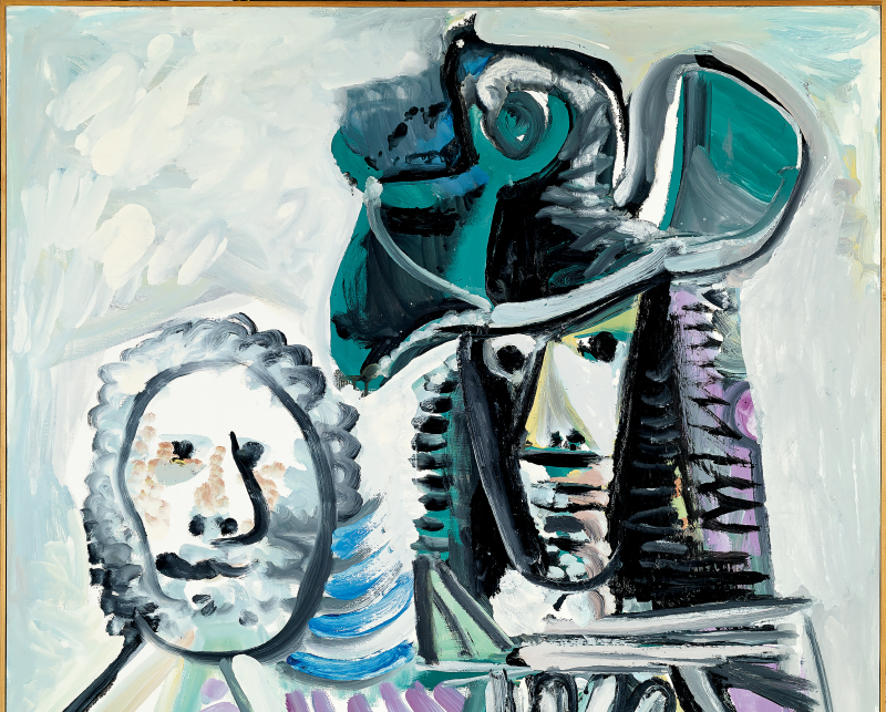Mousquetaire et Personnage, Pablo Picasso, 1972