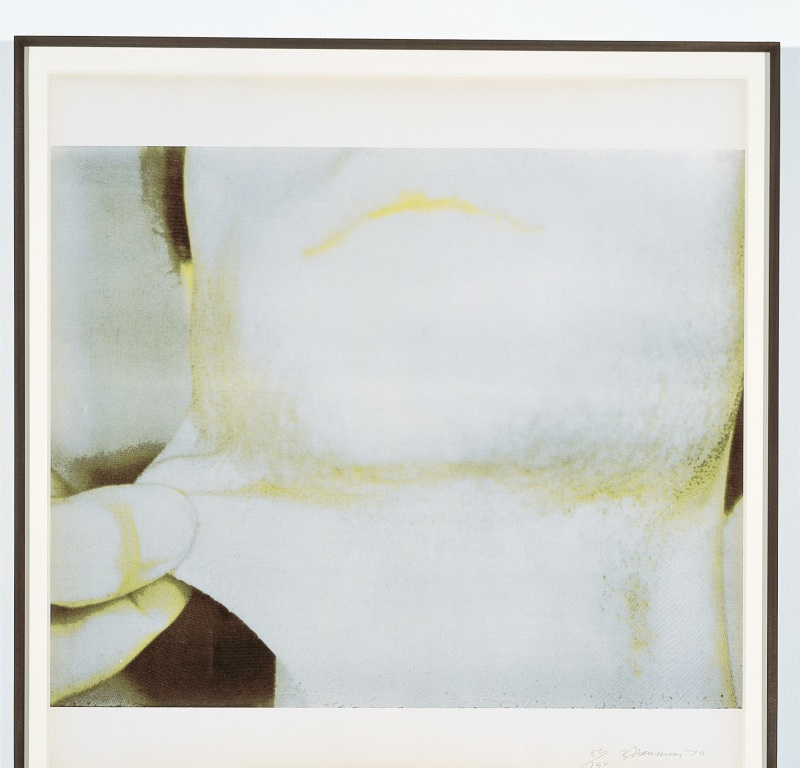 Nauman, From Studies from Holograms 4, Face à face, musée Fabre