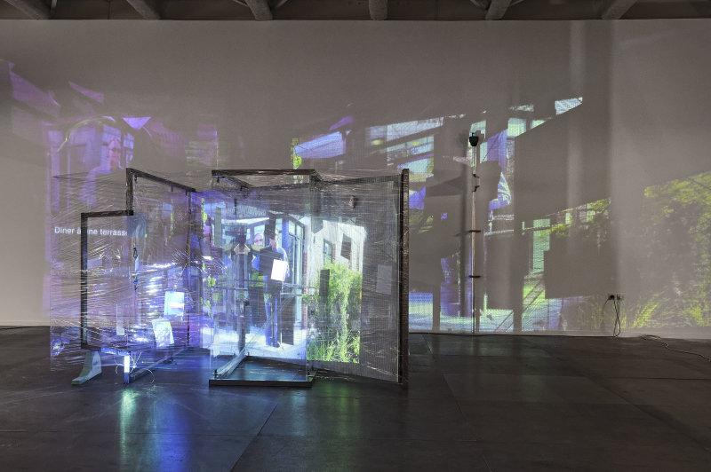 Neil Beloufa, Superlatives and Resolution, Biennale d'art contemporain, Lyon