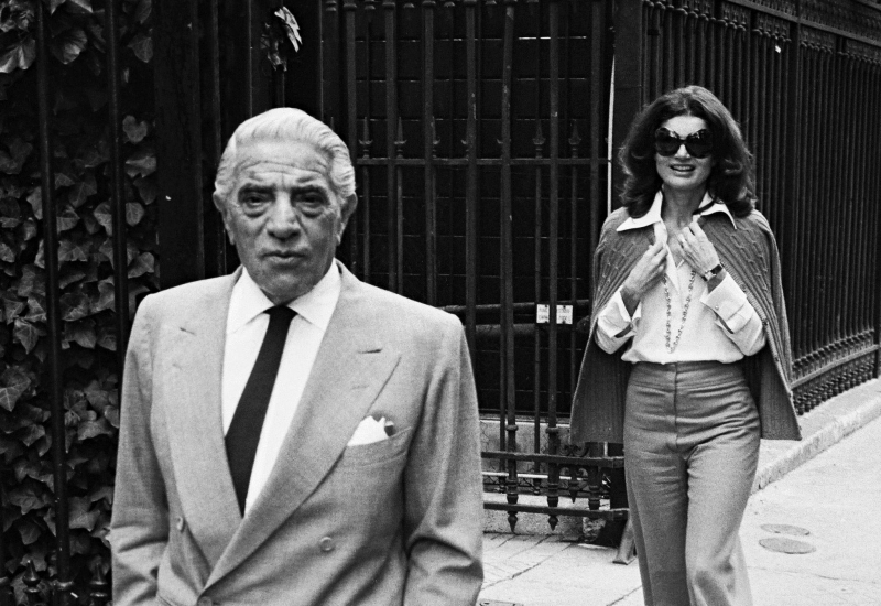 ARCHIVES - ARISTOTE ONASSIS, JACKIE KENNEDY    00109947