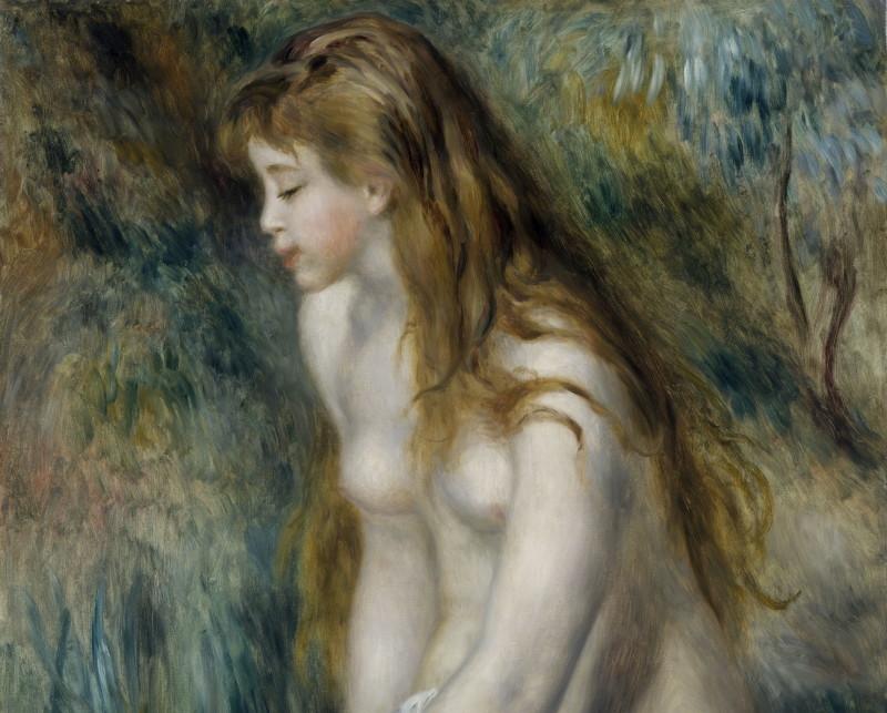 Pierre-Auguste Renoir, Baigneuse assise 1892, Monet Collectionneur, Musée Marmottan-Monet