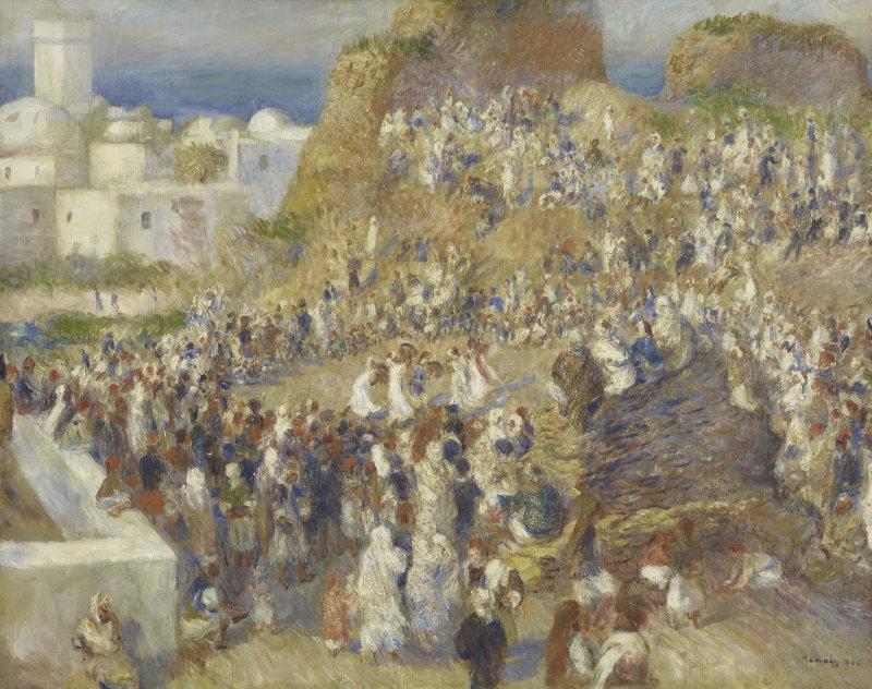 Pierre-Auguste Renoir, La Mosquée. Fête arabe, 1881, Monet Collectionneur, Musée Marmottan-Monet