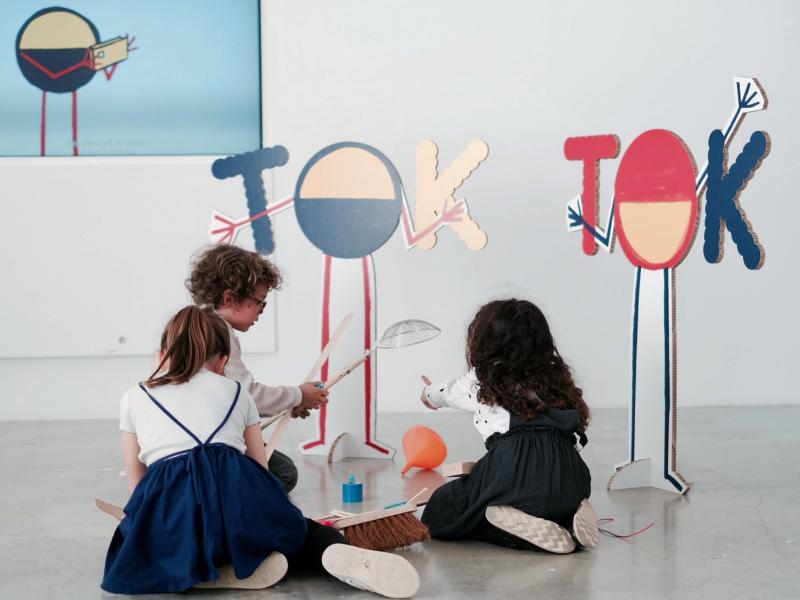 Les ateliers tok-tok, Palais de Tokyo, expo in the city