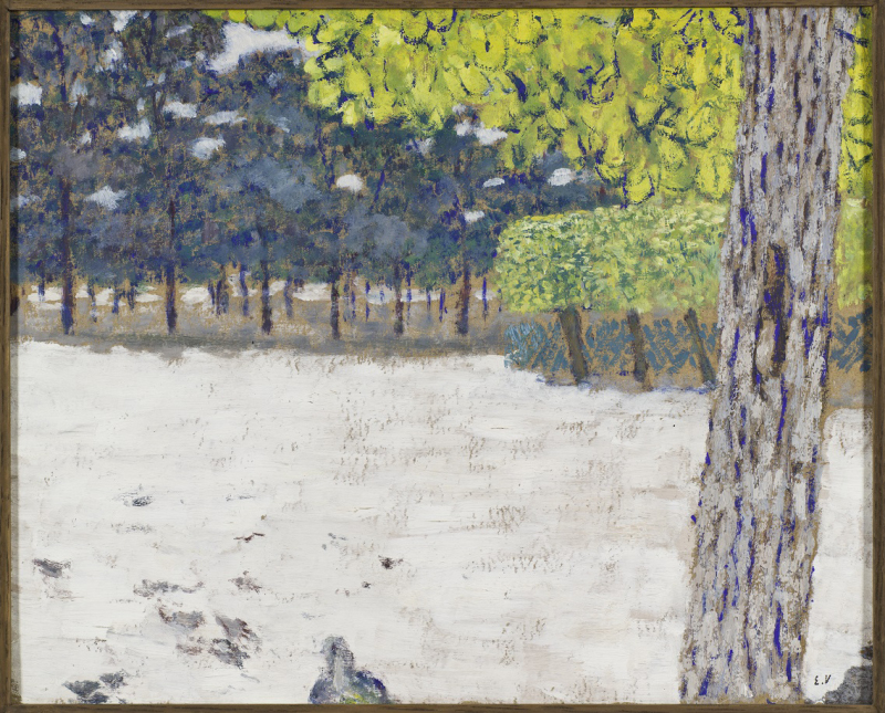 Vuillard, Le Jardin des Tuileries, 1894 - Exposition Bonnard Vuillard au Musée Bonnard, Le Cannet