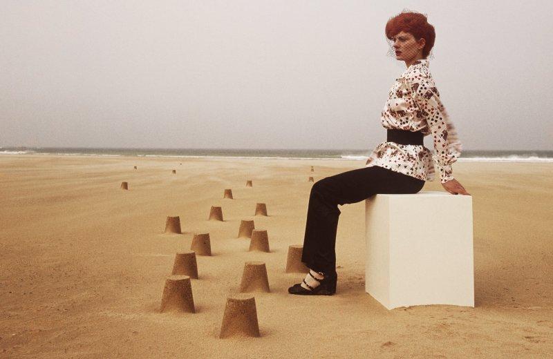 Guy Bourdin, Paris Vogue 1971, Chloé autumn-winter 1971 collection
